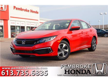 2021 Honda Civic LX (Stk: 21011) in Pembroke - Image 1 of 29