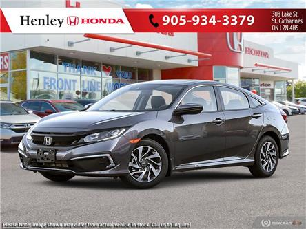 2021 Honda Civic EX (Stk: H19316) in St. Catharines - Image 1 of 23