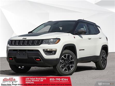 2021 Jeep Compass Trailhawk (Stk: ) in Essex-Windsor - Image 1 of 23