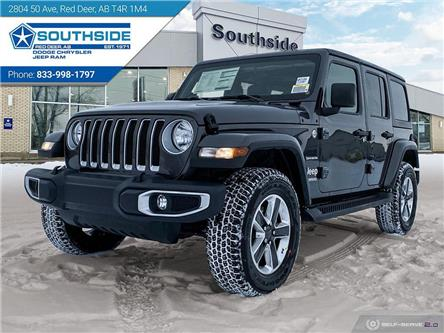 2021 Jeep Wrangler Unlimited Sahara (Stk: WR2106) in Red Deer - Image 1 of 25