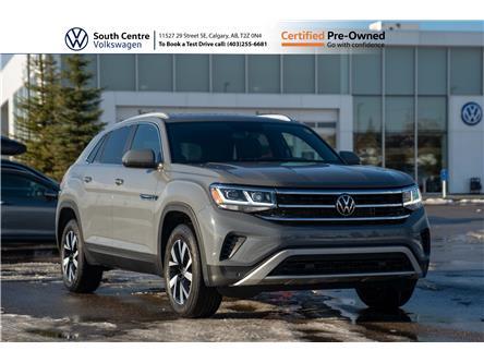2020 Volkswagen Atlas Cross Sport 3.6 FSI Comfortline (Stk: 00104) in Calgary - Image 1 of 46