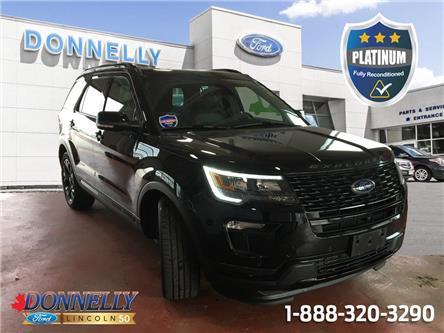 2019 Ford Explorer Sport (Stk: PLDV14L) in Ottawa - Image 1 of 28