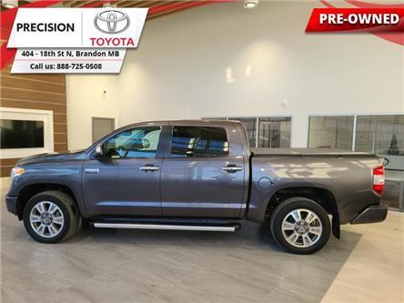 2017 Toyota Tundra Platinum (Stk: 210511) in Brandon - Image 1 of 27