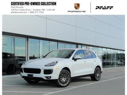 2017 Porsche Cayenne Platinum Edition (Stk: U9199) in Vaughan - Image 1 of 22