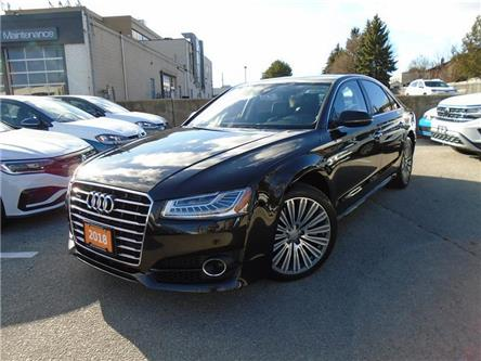 2018 Audi A8 4.0T (Stk: P7596) in Toronto - Image 1 of 21