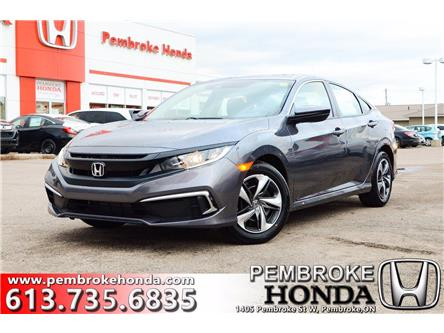 2021 Honda Civic LX (Stk: 21009) in Pembroke - Image 1 of 26