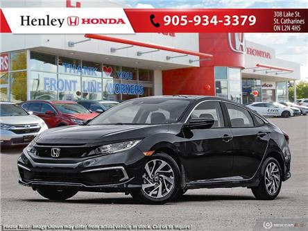 2021 Honda Civic EX (Stk: H19296) in St. Catharines - Image 1 of 23