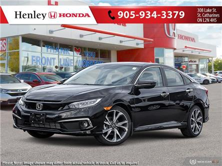 2021 Honda Civic Touring (Stk: H19304) in St. Catharines - Image 1 of 23