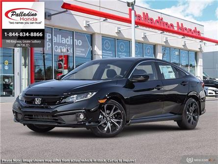 2021 Honda Civic Sport (Stk: 22834) in Greater Sudbury - Image 1 of 23