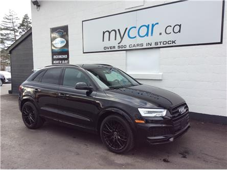 2018 Audi Q3 2.0T Technik (Stk: 201186) in Ottawa - Image 1 of 21