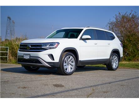2021 Volkswagen Atlas 3.6 FSI Highline (Stk: MA536891) in Vancouver - Image 1 of 22
