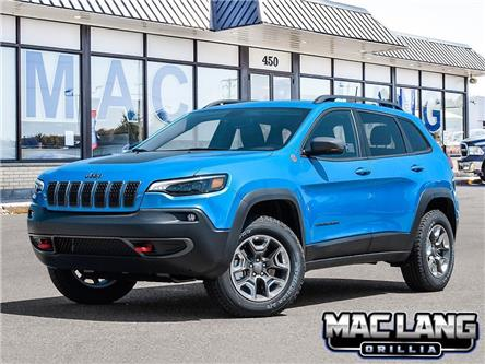 2020 Jeep Cherokee Trailhawk (Stk: 13645) in Orillia - Image 1 of 23