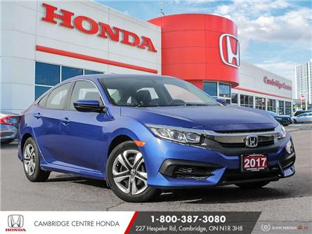 2017 Honda Civic LX (Stk: 21082A) in Cambridge - Image 1 of 27