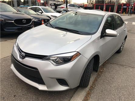 2016 Toyota Corolla LE (Stk: P4004A) in Toronto - Image 1 of 7