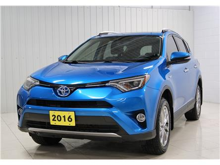 2016 Toyota RAV4 Hybrid Limited (Stk: P6104A) in Sault Ste. Marie - Image 1 of 16