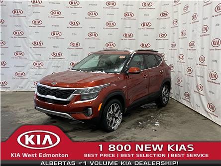 2021 Kia Seltos EX Premium (Stk: 22642) in Edmonton - Image 1 of 24
