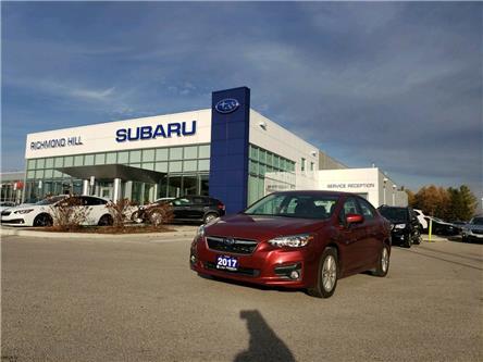 2017 Subaru Impreza Touring (Stk: LP0395) in RICHMOND HILL - Image 1 of 12