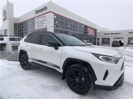 2020 Toyota RAV4 Hybrid XLE (Stk: 9076B) in Calgary - Image 1 of 22