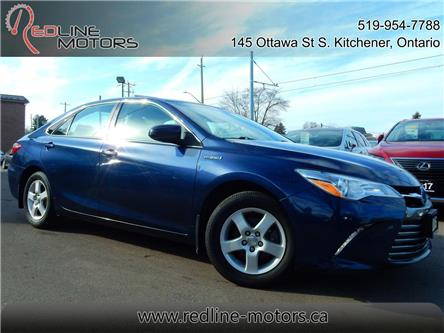 2016 Toyota Camry Hybrid XLE (Stk: 4T1BD1) in Kitchener - Image 1 of 27