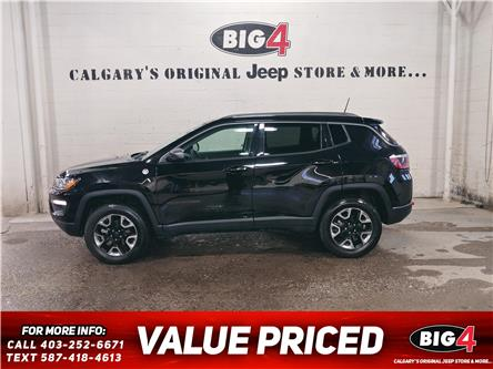 2018 Jeep Compass Trailhawk (Stk: R14297) in Calgary - Image 1 of 12