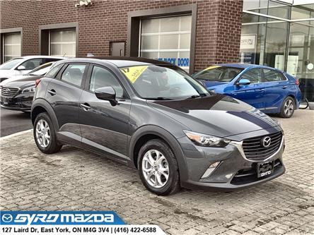 2017 Mazda CX-3 GS (Stk: 30072A) in East York - Image 1 of 29
