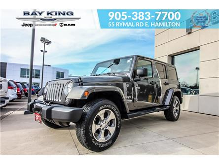 2017 Jeep Wrangler Unlimited  (Stk: 217519A) in Hamilton - Image 1 of 16