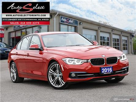 2016 BMW 328i xDrive (Stk: 1RW6X1) in Scarborough - Image 1 of 28