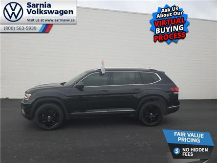 2019 Volkswagen Atlas 3.6 FSI Execline (Stk: VU1069) in Sarnia - Image 1 of 15