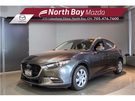 2018 Mazda Mazda3 Sport GS (Stk: 20151A) in North Bay - Image 1 of 20