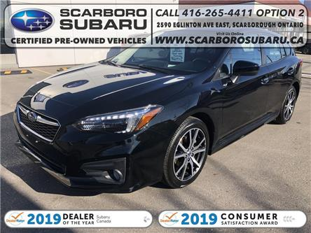 2019 Subaru Impreza Sport (Stk: K3733227) in Scarborough - Image 1 of 19