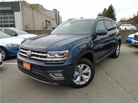 2018 Volkswagen Atlas 3.6 FSI Highline (Stk: W1964A) in Toronto - Image 1 of 7