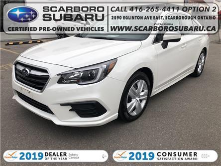 2019 Subaru Legacy 2.5i (Stk: K3010512) in Scarborough - Image 1 of 18