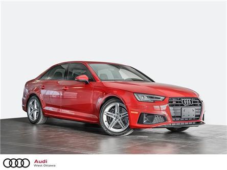 2019 Audi S4 3.0T Progressiv (Stk: 92618) in Nepean - Image 1 of 21