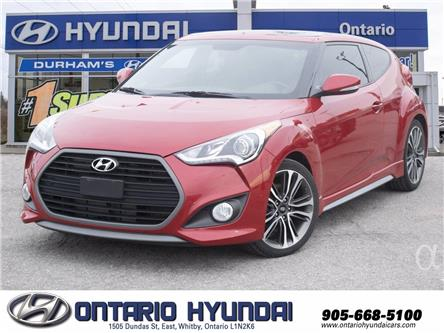 2016 Hyundai Veloster Turbo (Stk: 52207L) in Whitby - Image 1 of 21