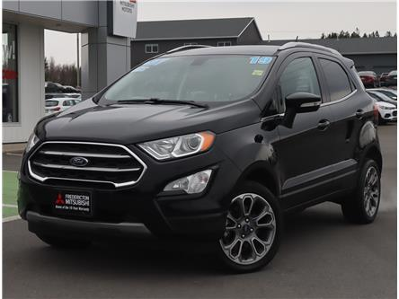 2019 Ford EcoSport Titanium (Stk: 201605A) in Fredericton - Image 1 of 22