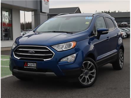 2019 Ford EcoSport Titanium (Stk: 201606A) in Fredericton - Image 1 of 21
