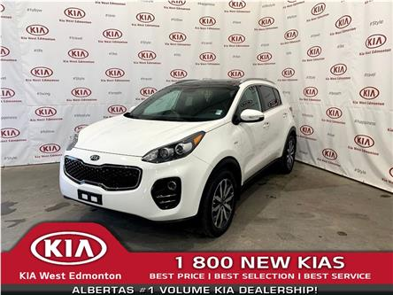 2017 Kia Sportage EX Tech (Stk: 7649) in Edmonton - Image 1 of 34