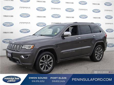 2018 Jeep Grand Cherokee Overland (Stk: 20FE237B) in Owen Sound - Image 1 of 24