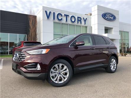 2020 Ford Edge Titanium (Stk: VEG19943) in Chatham - Image 1 of 15