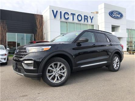 2021 Ford Explorer XLT (Stk: VEX19928) in Chatham - Image 1 of 15