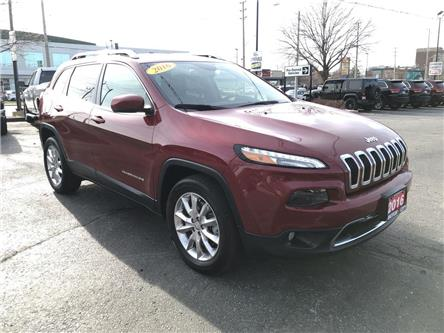 2016 Jeep Cherokee Limited (Stk: 21056A) in Windsor - Image 1 of 12