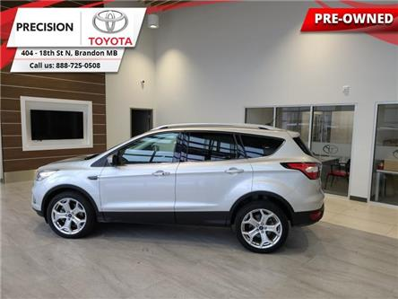 2018 Ford Escape Titanium (Stk: 210561) in Brandon - Image 1 of 30