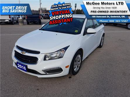 2016 Chevrolet Cruze Limited 1LT (Stk: 190898) in Goderich - Image 1 of 24