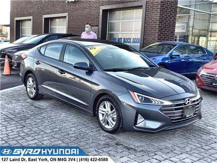 2020 Hyundai Elantra Preferred (Stk: H5974A) in Toronto - Image 1 of 28