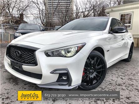 2019 Infiniti Q50 3.0t Red Sport 400 (Stk: 830171) in Ottawa - Image 1 of 26