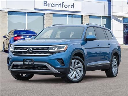 2021 Volkswagen Atlas 3.6 FSI Highline (Stk: AT21966) in Brantford - Image 1 of 23