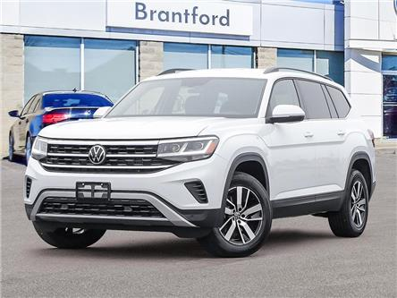 2021 Volkswagen Atlas 3.6 FSI Comfortline (Stk: AT21048) in Brantford - Image 1 of 23