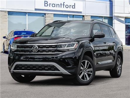 2021 Volkswagen Atlas 3.6 FSI Comfortline (Stk: AT21872) in Brantford - Image 1 of 23
