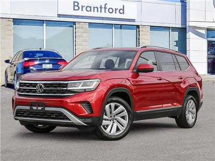2021 Volkswagen Atlas 3.6 FSI Highline (Stk: AT21258) in Brantford - Image 1 of 23