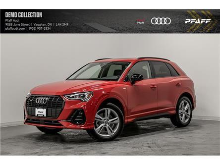 2021 Audi Q3 45 Progressiv (Stk: T18744) in Vaughan - Image 1 of 22